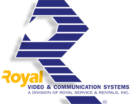 Royal Services & Rentals, Inc. logo for Closed Circuit TV